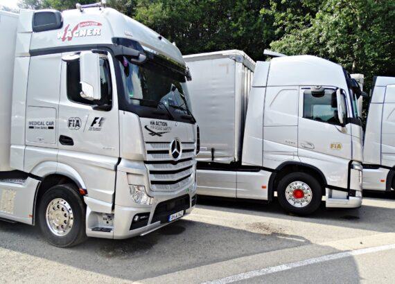 Transportistas en Vigo