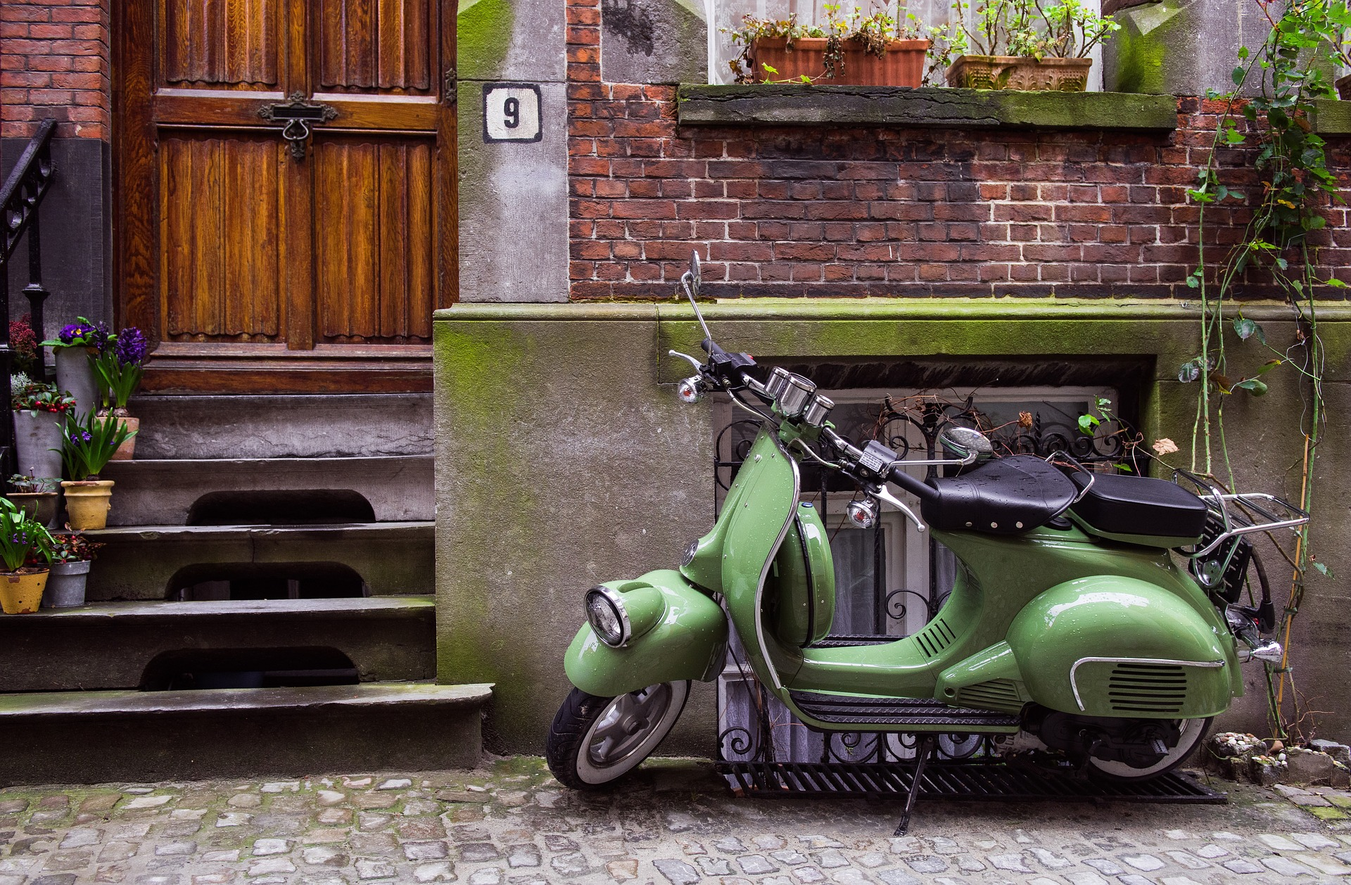 Como enviar un scooter